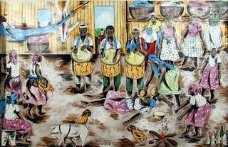 Market Day, Belize by Isiah Nicholas