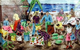 Dugu: The Garifuna Feast by Isiah Nicholas