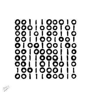 Binary Portrait by Albert Vergés