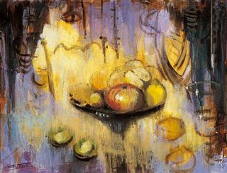Still Life with Apples by Antonio Abad