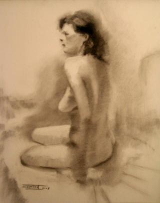 Nude 14 by Antonio Abad