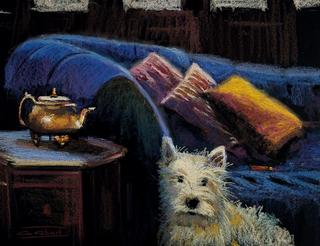 Interior with Dog by Antonio Abad
