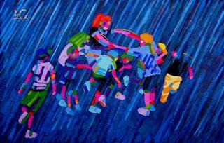 Rain Dance by Estefanía Córdoba