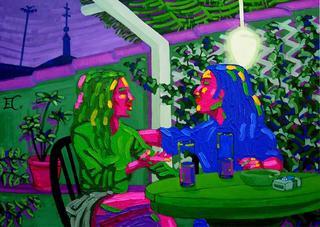 The Conversation by Estefanía Córdoba