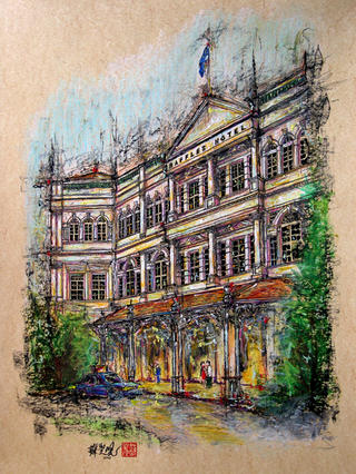 Raffles Hotel by Soo Sheng Lih