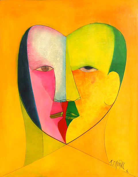 Lovers III by Thanh Chuong