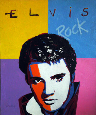 Elvis by Alfonso Cerdán