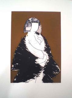 Elena I by Manolo Valdés