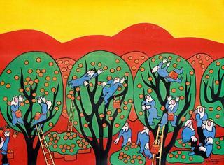 Orange Harvest by Pham Viet Hong Lam