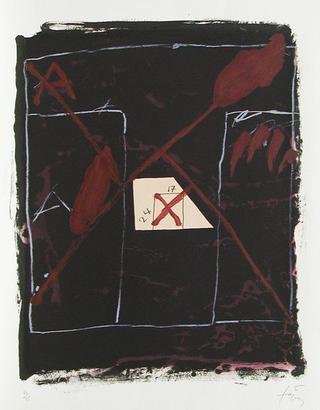24 sur 17 by Antoni Tàpies