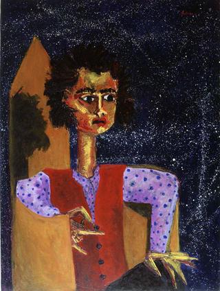 Young Autoportrait by Juan Dalmau Gallarza
