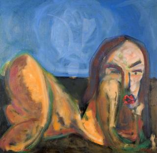 Liying Woman by Juan Dalmau Gallarza