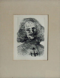 Velaszquez - From the Five Spanish Immortals Series by Salvador Dalí