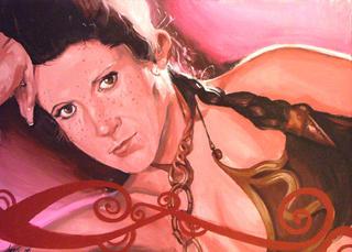 "Princess-La Leia que me Lia by Carlos Cenoz Bermejo ""Dino"""