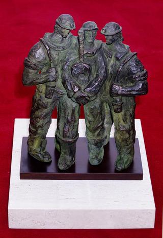 Trio of Miners by Eskerri