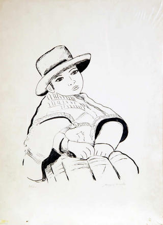 Peruvian Girl by Biagio Civale