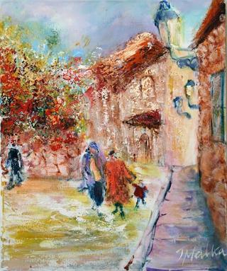 Jerusalem Corner by Malka Tsentsiper