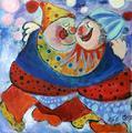 Clowns by Malka Tsentsiper