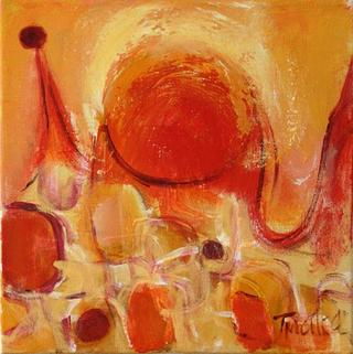 Etude in Yellow 2 by Malka Tsentsiper