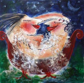 Night Pleasures in Bath by Malka Tsentsiper