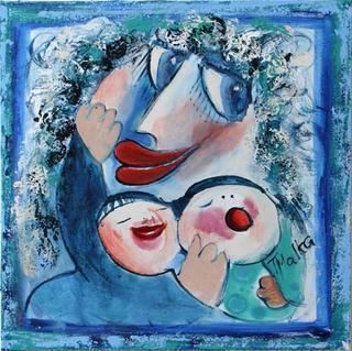 Motherhood 26 by Malka Tsentsiper