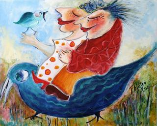 Spring Ride by Malka Tsentsiper