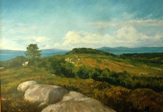Xiradella Mountain by Francisco Sutil