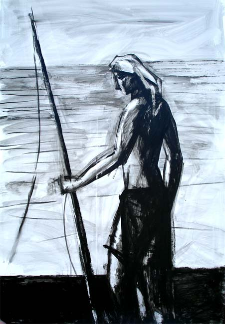 Stand Up Fisherman by Manuel José Ramat
