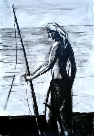 Stand Up Fisherman by Manuel José Ramat