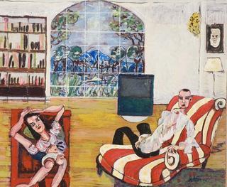 At Home by Juan Dalmau Gallarza