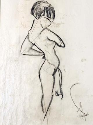 Woman Sketch by Juan Dalmau Gallarza