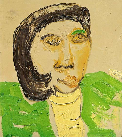 Portrait of an Woman by Trinh Minh Tien