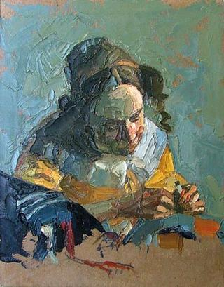 Variations on Vermeer - The Lacemaker by Alvaro Amengual