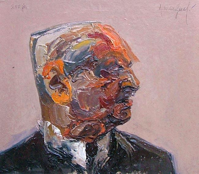 Anonimous Portrait VI by Alvaro Amengual