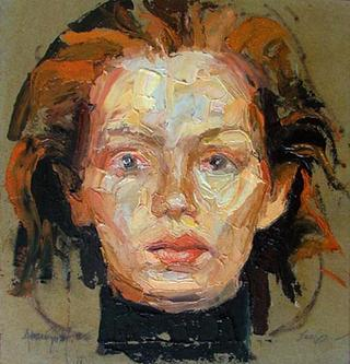 Anonimous Portrait VII by Alvaro Amengual