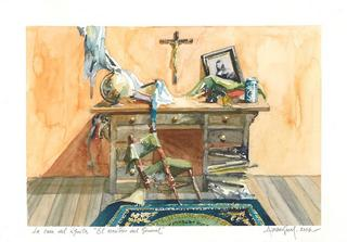 The General´s Desk by Alvaro Amengual