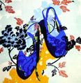 Blue Shoes by Mª Luisa Sanz