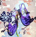 Purple Shoes by Mª Luisa Sanz