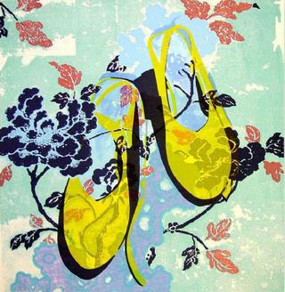 Yellow Shoes by Mª Luisa Sanz