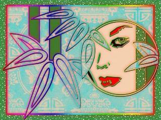 Face - Right by Mª Luisa Sanz