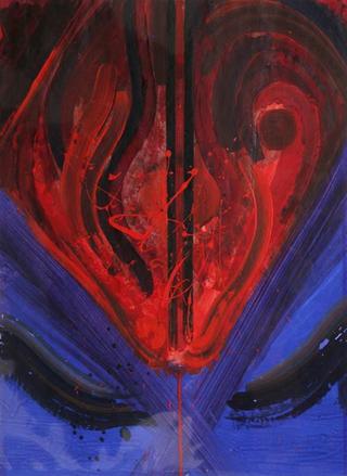 Untitled (Red and Blue) by Josep Grau Garriga