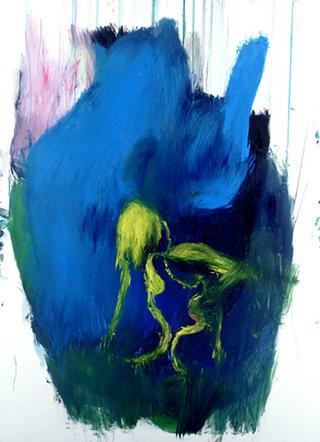 The Blue Heart by Carmen García Bartolomé