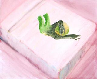 The Fall of  Green Being by Carmen García Bartolomé