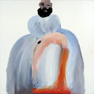 Menina with Death Redhead by Carmen García Bartolomé