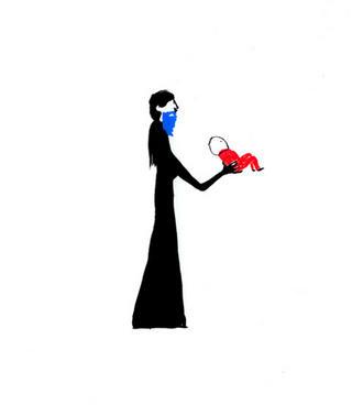 Blue Beard Woman by Carmen García Bartolomé