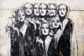 Obsession ( Muses Painting) by José Manuel Peñalver