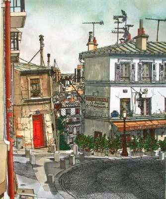 Le Carillon de Montmartre by Kojiro Akagi