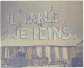 Il parle, je Peins by Jean-Michel Alberola
