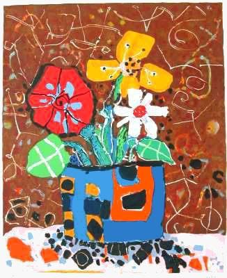 Bouquet de Fleurs IV by Paul Aïzpiri