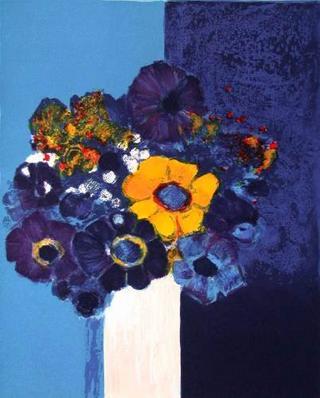 Petit Bouquet d'anémones by Jean-Claude Allenbach